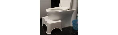 marche pieds physiologique pour toilettes